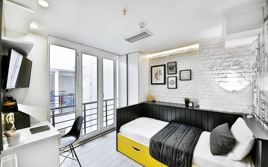 Dormitorios para estudiantes