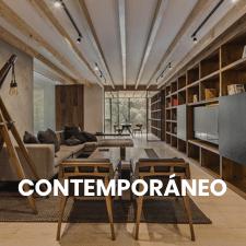 un salón de estilo contemporaneo