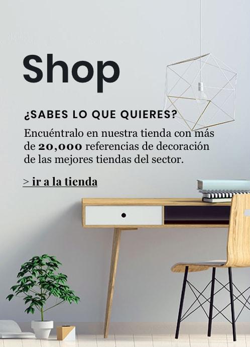 Tienda de mobiliario y decoración