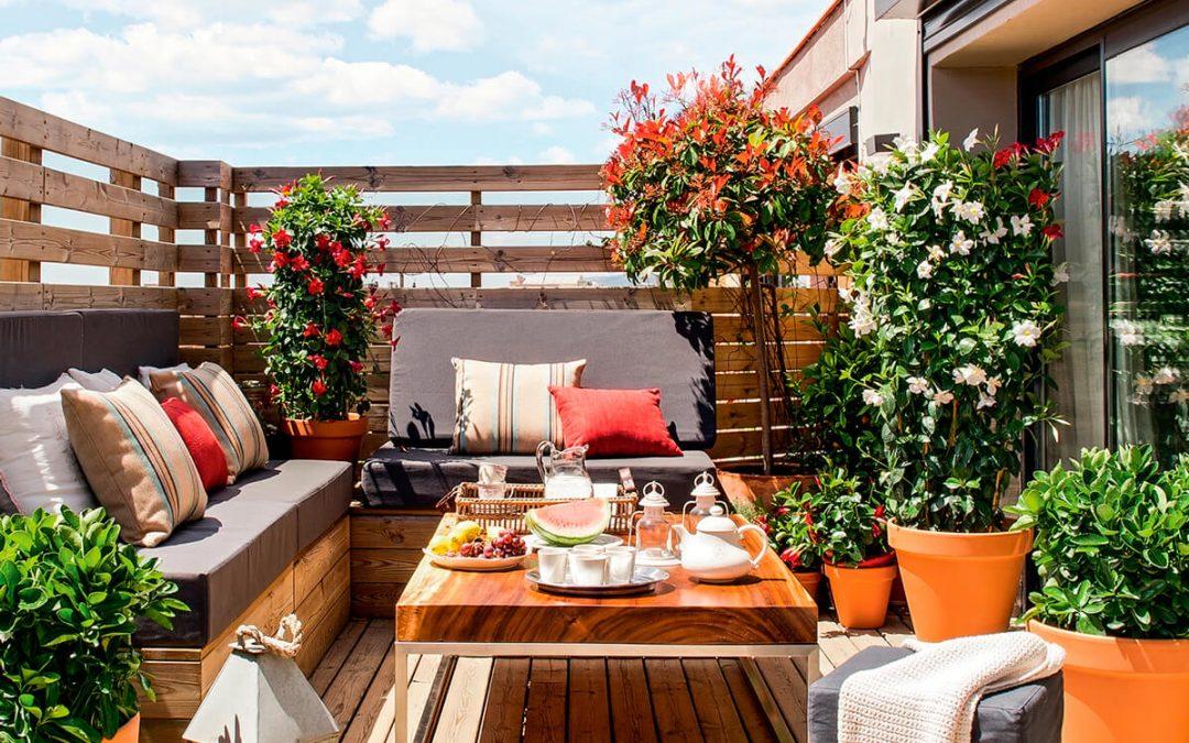 ¡Dale un aire nuevo a tu terraza!