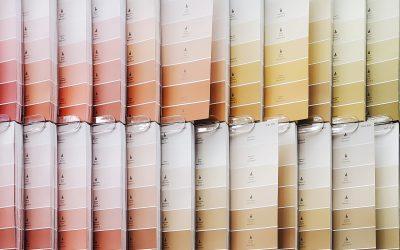 Elige la paleta de colores para tu nuevo proyecto de interiorismo