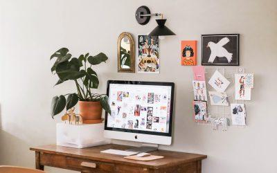 ¿Cómo crear tu espacio de trabajo en casa?  Aquí las claves para diseñar tu home office.